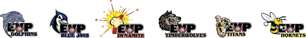 EVP House League Logos